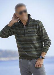 He. Zipp-Sweater