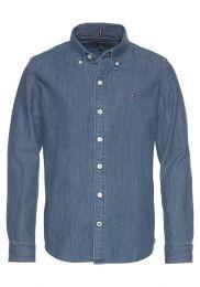 Hemd,Mid Blue