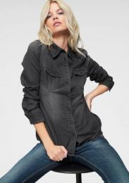 Jeansbluse Lilien