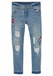 Buf-Jeans Blumen