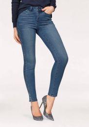 Jeans With Metallic Stripe