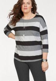 Stripe Square Shirt