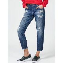 Comfort-Fit-Jeans,Blau