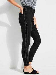 Skinny-Fit-Jeans,Schwarz