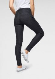 Jeans With Buttons At Hem