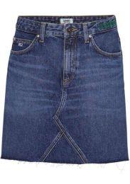 Rock Tj Short Denim Skirt Tjsm