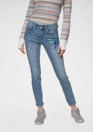 Jeans Mit Feder Pr