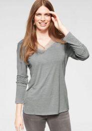 T-Shirt V-Neck W/L