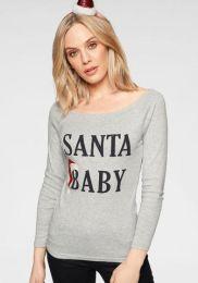 Santa Baby Carmenshirt
