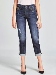 3/4-Jeans,Dunkelblau