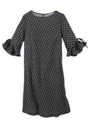 Kleid Volantärmel
