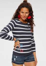 Pullover Streifen Und Herzen