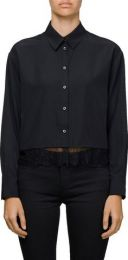 Shirt Cropped Shirt With