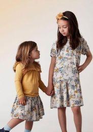 Creamie-Kleid Mit