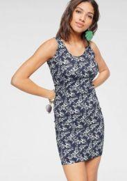 Kleid Mit Blumen Print