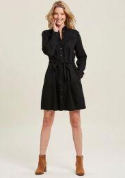 Dress Button Collo