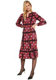Kleid mit Alloverdruck