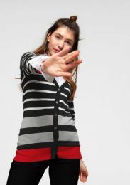 Cardigan Striped