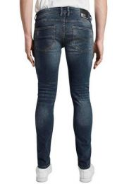 Skinny Culver Dark Stone Denim, Lä