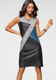 Kleid Color Blocking