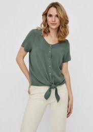 Shirtbluse Knoten