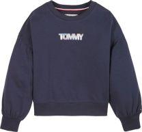 Iridescent Badge Crew Sweatshirt