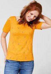 Shirt Kleiner Vogeldruck