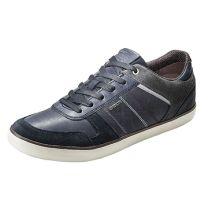 He. Ledersneaker