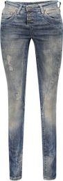 Damen-Destroyed-Jeans