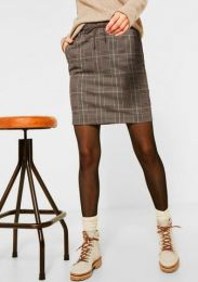 Style Skirt Glencheck
