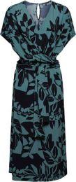 Eco Kleid Mit Bindegürtel