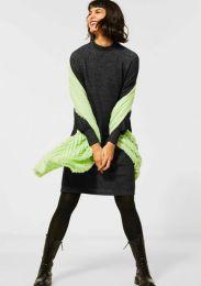 Dress W Raglan Sleeve_Kn