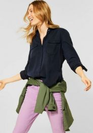 Solid Lyocell Blouse