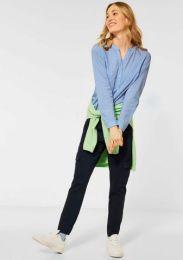 3 Colored Stripe Blouse