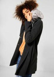 Pique Coat W. Hoodie