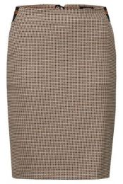 Mini Jacquard Pencil Skirt Active,B