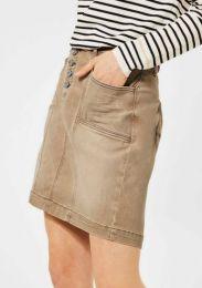 Denim-Skirt Color