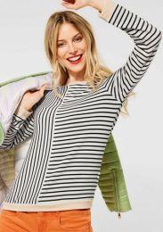 Jersey Stripe-Mix Shirt