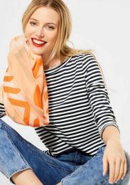 Ltd Qr Printed Stripe Sh