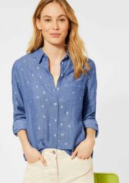 Chambray Doubleface Blou
