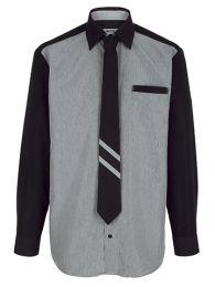 He. Hemd Mit Krawatte