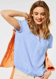 Linen Shirtblouse W Spli