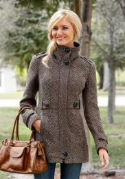 Outdoorjacke Tweed