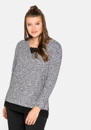Da. 2-In-1-Pullover