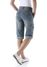 Jeansbermudas