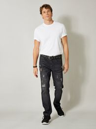 He. Tapered-Jeans