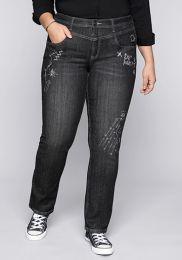 Da. Gerade Jeans