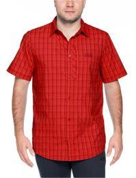 Outdoorhemd,Fiery Red Checks
