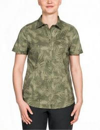 Outdoorbluse,Burnt Olive All Over