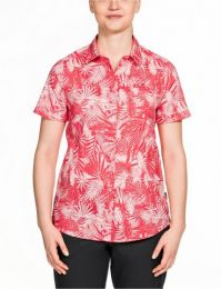 Outdoorbluse,Hot Coral All Over